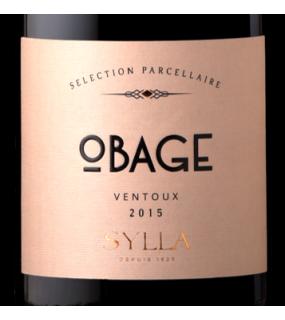 Obage rouge Vin rouge AOP Ventoux Cave coopérative Apt Sylla Terroirs d'altitude Grenache
