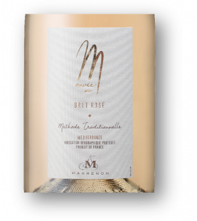 Méthode tradtionnelle brut rosé Luberon Grenache Mousseux