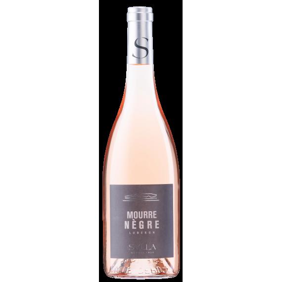 Vin rosé pâle élégant fruité AOC Luberon Mourre Nègre